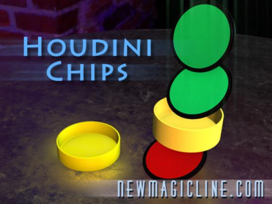 Houdini Chips - Close Up Zaubertrick