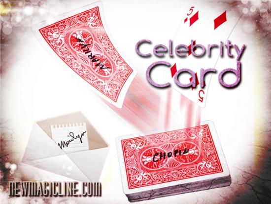 Celebrity Card by Cristian Cicconer - Kartentrick