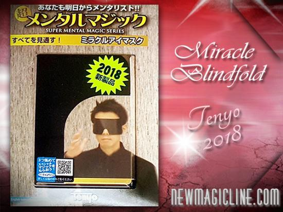 Miracle Blindfold - Tenyo 2018 - Mentalmagie