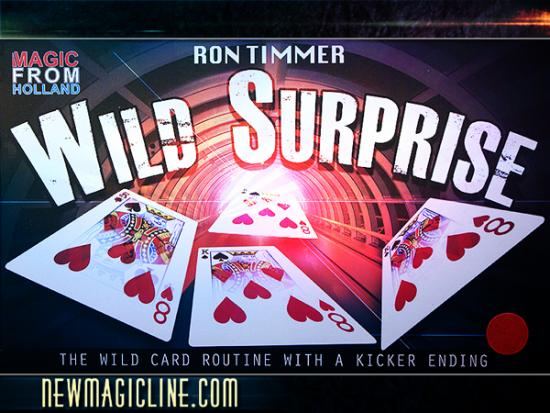 Wild Surprise by Ron Timmer - Kartentrick
