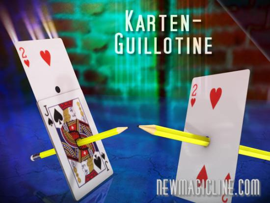 Karten Guillotine Bicycle | Kartentrick