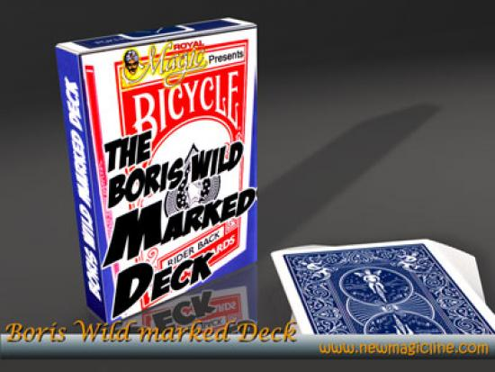 Boris Wild Marked Deck Bicycle Trickkarten - Trickkarten