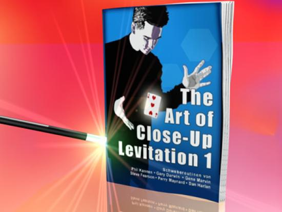 The Art of Close up Levitation 1 - Zauberbuch