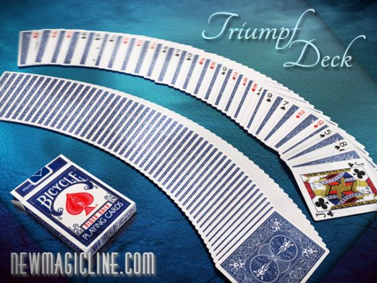 Triumph Deck Basic - Bicycle - Kartentrick lernen