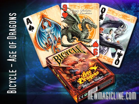 Bicycle Anne Stokes Age of Dragons - Spielkarten