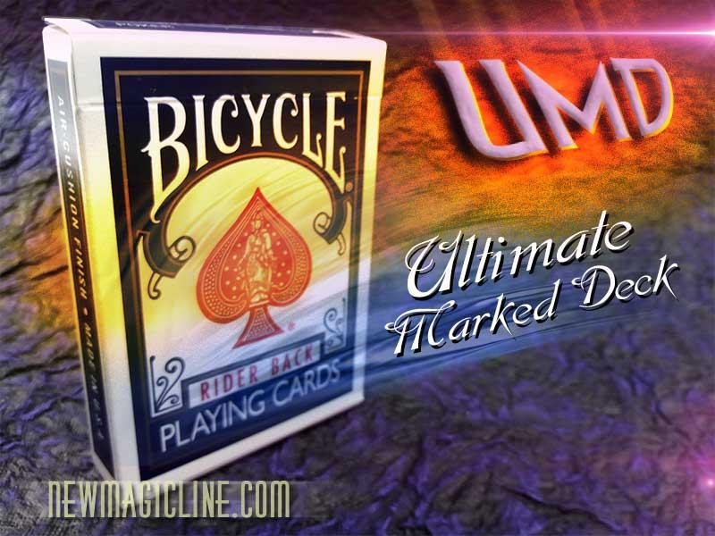 Bicycle Karten UMD Ultimate Marked Deck - BLAU - Trickkarten