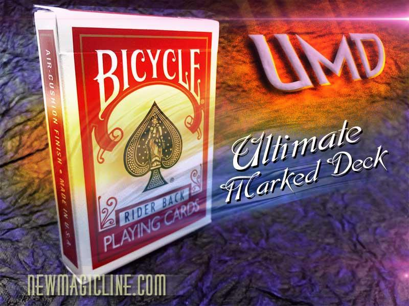 Bicycle UMD Ultimate Marked Deck - ROT - Kartentrick