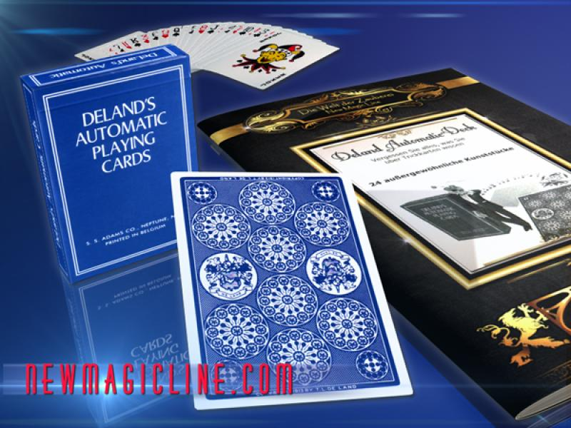 DELAND'S AUTOMATIC PLAYING CARDS  Röntgenkarten - Trickkarten / -