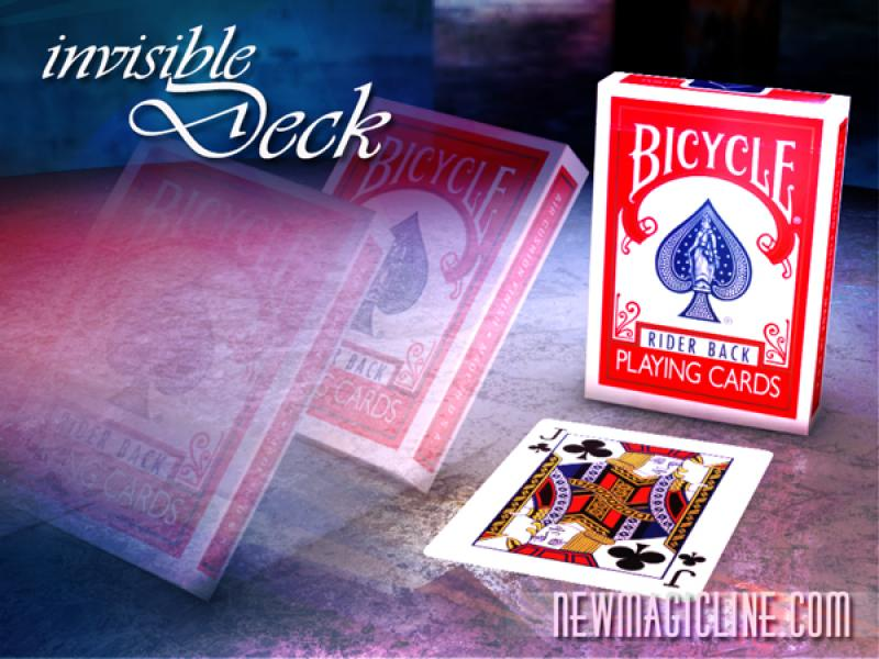Invisible Deck Bicycle | Kartentrick lernen